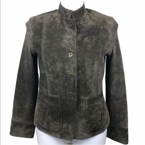 Liz Claiborne suede jacket, large